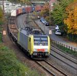 E 189 931 RT ES 64 F 4 031 MRCE Dispolok in Ulm am 18.10.2012.