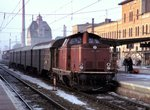212 233-1 in Augsburg am 30.01.1981 (Diascan).