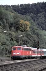 berlin-deutsche-bahn-ag/593648/110-400-9-in-geislingensteige-am-04102001 110 400-9 in Geislingen/Steige am 04.10.2001 (Diascan).