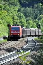 berlin-deutsche-bahn-ag/599713/185-195-5-auf-der-geislinger-steige 185 195-5 auf der Geislinger Steige am 11.09.2010.