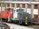 365 221-1 von rail adventure in Ulm am 08.03.2020.