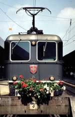 Re 4/4 II Nr.11197 in Lindau am 15.08.1978.